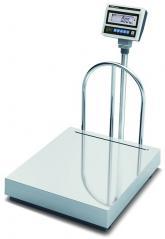 Весы напольные CAS DB-II-300LCD (платформа н/ж 700х800мм)