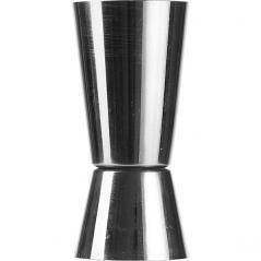 Джиггер 25/50мл с делениями; сталь нерж.; D=40, H=87мм
