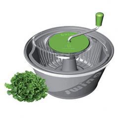 Центрифуга для сушки зелени пластик 20л D=46,H=30см серый,зелен.