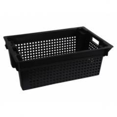 Ящик 380х580х200мм для овощей (черный)