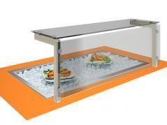 Встраиваемая ванна для льда Виола ВЛ-1685БХА