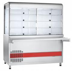 Прилавок-витрина холодильный Abat ПВВ(Н)-70КМ-С-03-НШ Аста