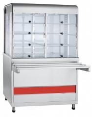 Прилавок-витрина тепловой Abat ПВТ-70КМ Аста