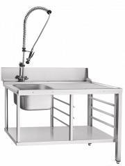Стол предмоечный Abat СПМП-6-3 душ стойка
