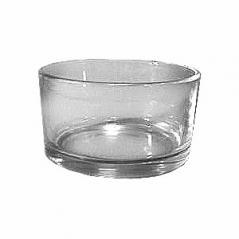Емкость для пармезана стекло 200мл D=9,H=5см прозр.