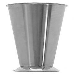 Держатель воронки-дозатора сталь нерж.; D=16,H=16.5см; металлич.