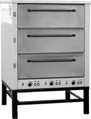 Печь хлебопекарная Восход ХПЭ-500 оцинк (в обрешетке)