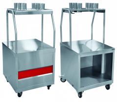 Прилавок для столовых приборов Abat ПСП-70ПМ передвижной