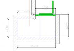 Камера холодильная низкотемпературная ПХ 1680х2830х2200 100 мм