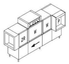 Конвейерная посудомоечная машина Dihr AX 440 LC dx