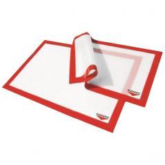 Лист для выпечки силикон L=53,B=32см белый,красный Paderno