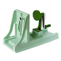 Дайконорезка Тёрнинь слайсер пластик,металл H=275,L=120,B=35мм зелен.
