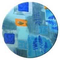 Столешница - TOPALIT, 110x70 №23 Azure (тканевая)