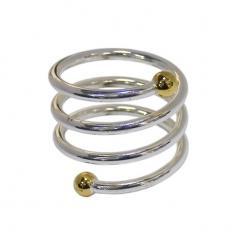 Кольцо для салфеток 40мм спираль [TT-1S2]