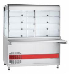 Прилавок-витрина холодильный Abat ПВВ(Н)-70КМ-С-01-НШ Аста