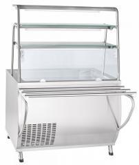 Прилавок холодильный Abat ПВВ(Н)-70Т-НШ Премьер