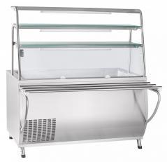 Прилавок холодильный Abat ПВВ(Н)-70Т-01-НШ Премьер