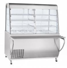 Прилавок-витрина холодильный Abat ПВВ(Н)-70Т-С-01-НШ Премьер