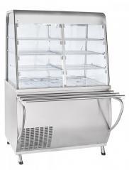 Прилавок-витрина холодильный Abat ПВВ(Н)-70Т-С-НШ Премьер