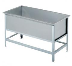 Ванна односекционная котломоечная ATESY ВСМ-Б-1.1250.600-02 (ВМ-1/600/1350)