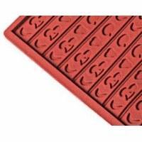 Коврик для выпечки рельефный (силикон)  'Фрукты' 60х40см, h3см