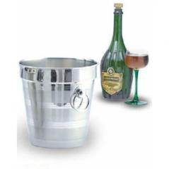 Ведро для шампанского нерж. 3,8л 20х20см MGSteel
