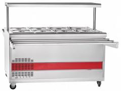 Прилавок холодильный Abat ПВВ(Н)-70ПМ-01-НШ передвижной