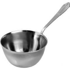 Кокотница «Новинка» сталь нерж.; 90мл; D=70,H=35,L=140мм; металлич.