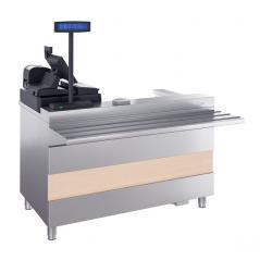 Кассовый стол с подлокотником ATESY Ривьера КСП-1200-02