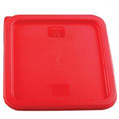 Крышка для контейнера 6л/8л полиэтилен H=15,L=230,B=230мм красный