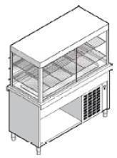 Витрина охлаждаемая Emainox 8VTRPG22