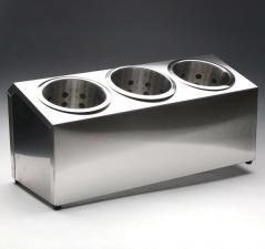 Контейнер для столовых приборов 3 ячейки 390х160х130
