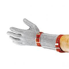 Перчатка кольчужная S, с ремнями, н/ст Paderno