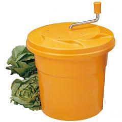 Центрифуга для мойки овощей пластик 25л D=43см оранжев. Paderno