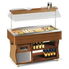 Салат-бар охлаждаемый Tecfrigo ISOLA 4 M