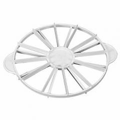 Делитель для торта 8-12кусков полипроп. D=26.5,H=2.5см желт. Paderno