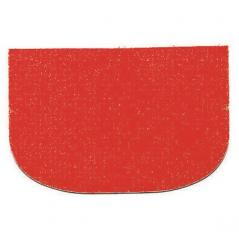Шпатель кондитерский [10шт] пластик H=1,L=14.5,B=10см красный Paderno