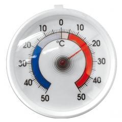 Термометр для холодильника (1C+50-50) пластик; ,L=65,B=55мм; белый