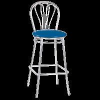 Каркас барного стула Venus d400, h860, хром