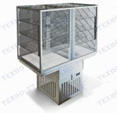Встраиваемая витрина охлаждаемая Виола ВО-1355 Д