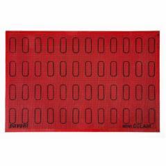 Коврик силиконовый 'Eclair' 60х40см с рисунком 60х18мм, перфорированный