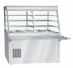 Прилавок-витрина холодильный Abat ПВВ(Н)-70Х-С-01-НШ HOT-LINE
