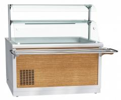 Прилавок холодильный Abat ПВВ(Н)-70Х-03-НШ HOT-LINE