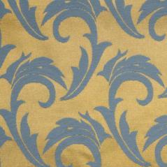 Мати Скатерть 145х145 см голубая с золотом [06С26-КВ 1625/040403+310503]