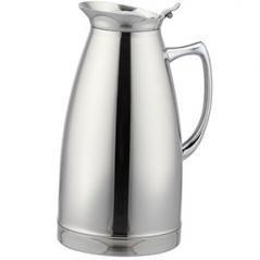 Кофейник-термос сталь нерж.; 1.5л; H=24.5см; серебрян.