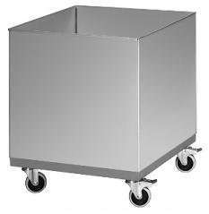 Бак для отходов на колесах БМ 500/500