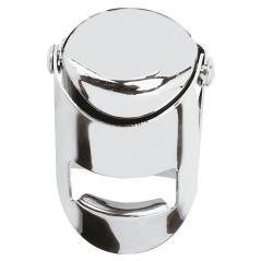 Пробка для шампанского сталь нерж. D=4,H=5,L=14,B=8см металлич.