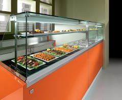 Витрина охлаждаемая IFI SNACK&FOOD REFR VAD 1500 UC SP R (2V)