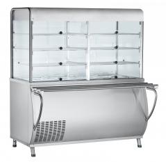 Прилавок-витрина холодильный Abat ПВВ(Н)-70М-С-НШ Патша