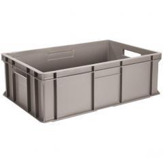 Контейнер для хранения продуктов пластик; 34л; H=17,L=59.5,B=39.5см; серый
